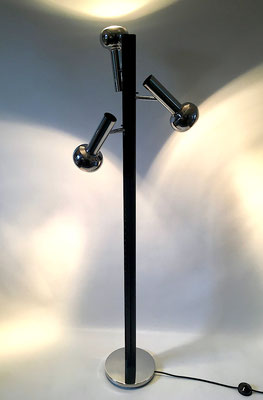 Rarity, a very rarely found floor lamp, probably from Switzerland!