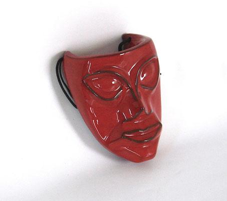Interessante Abbildung einer dämonischen Fratze! Interesting replica of a demonic grin!