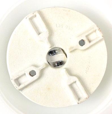 imensions: height = 11.5 cm. Diameter = 18.5 cm. Diameter base = 10 cm. 1 x E 14 socket.