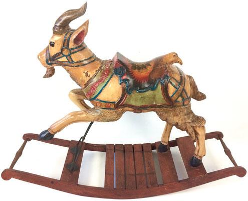 Sehr selten, als Ziegenbock da eigentlich hauptsächlich Pferde angeboten werden!