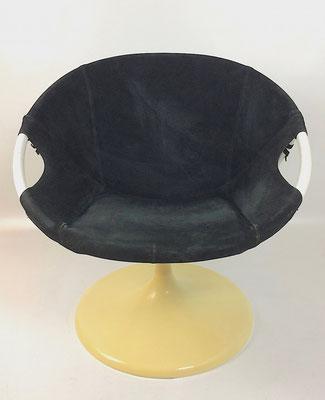 Seltene Ausführung des bekannten Ballon Chairs von Lusch & Co..