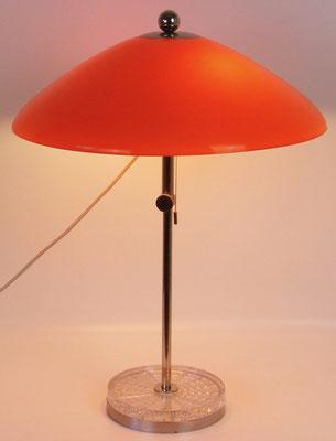 Tischlampe von Bünte und Remmler, Lüdenscheid, 60er Jahre! BUR Leuchten wurde in Frankfurt gegründet!