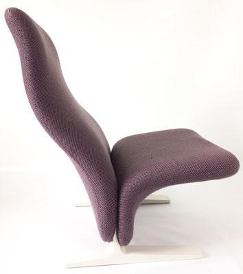 Sein zeitloses, futuristisches Design besticht noch heute, daher stellt Artifort diesen Sessel heute noch her!