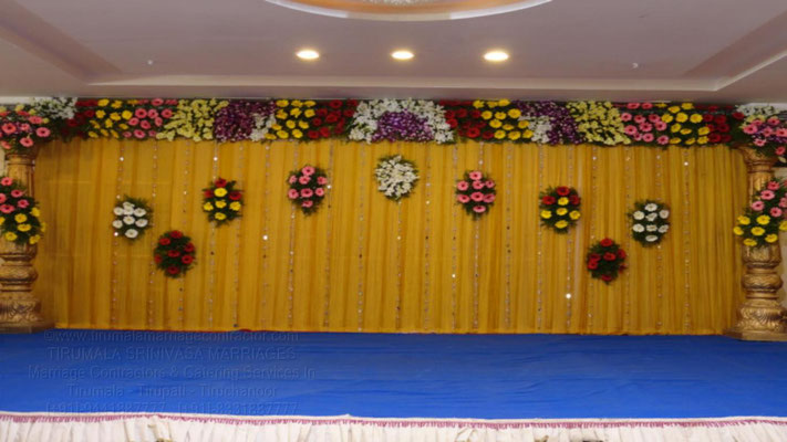 tirumala marriage contractor - reception 28