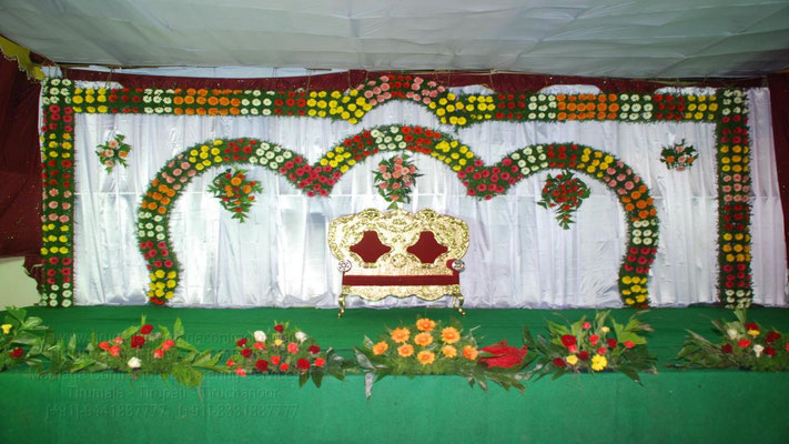 tirumala marriage contractor - reception 51