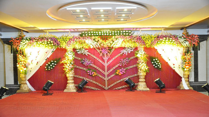 tirumala marriage contractor - reception 53