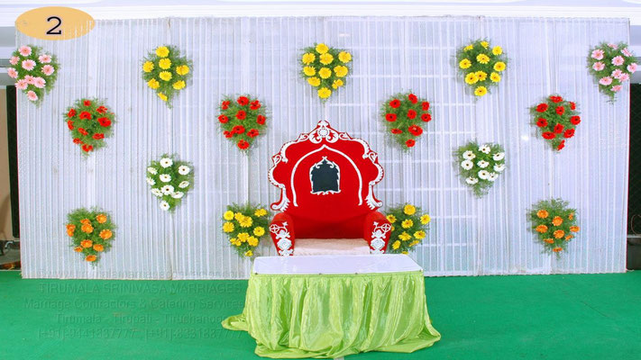 tirumala marriage contractor - reception 01