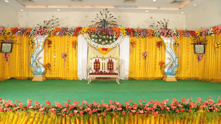 tirumala marriage contractor - reception 56