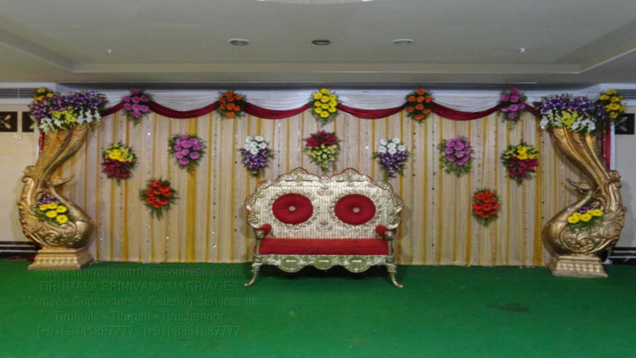 tirumala marriage contractor - reception 14