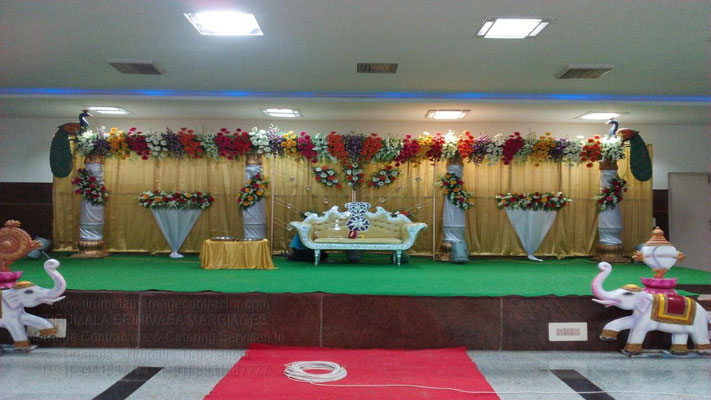 tirumala marriage contractor - reception 34