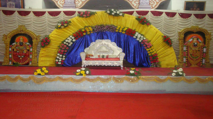 tirumala marriage contractor - reception 58
