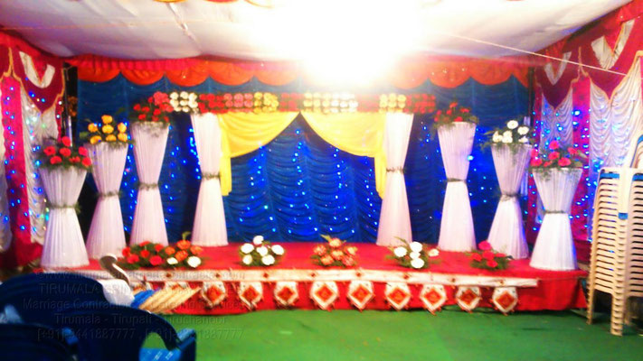 tirumala marriage contractor - reception 75