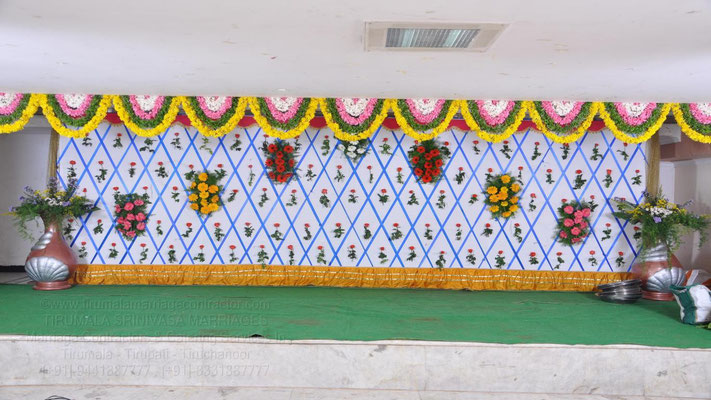 tirumala marriage contractor - reception 54