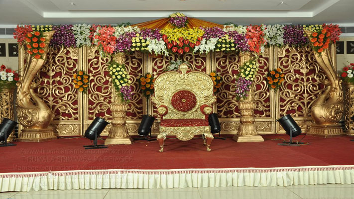 tirumala marriage contractor - reception 55