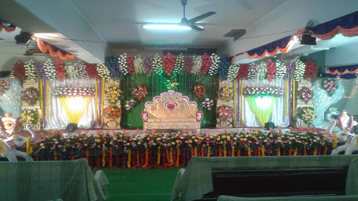 tirumala marriage contractor - reception 26