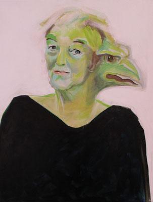 """""""Janoszeit"""",  Acryl auf Leinwand - 105 x 74 cm"""