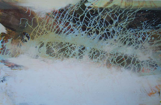 Kalter Grund (78x119cm / Acryl auf Leinwand)