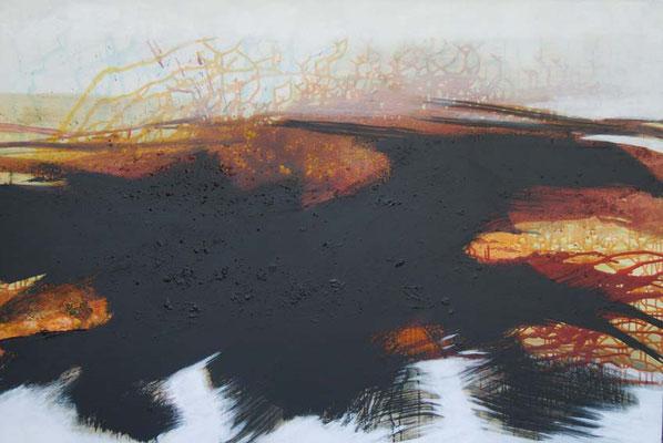 Baumloser Schatten (100x150cm / Acryl auf Leinwand)
