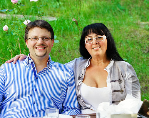 Georgia Kazantzidu und Matthias Laurenz Gräff in Gars
