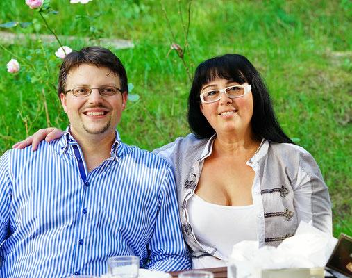 Georgia Kazantzidu und Matthias Laurenz Gräff in Gars (Foto: Hans-Jürgen Luntzer)