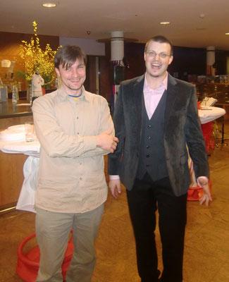 Hans-Jürgen Luntzer und Matthias Laurenz Gräff