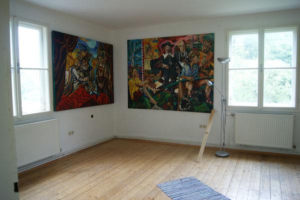 Matthiasn Laurenz Gräff, Präsentationsgalerie