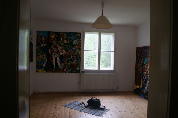 Matthias Laurenz Gräff, Galerie - Schauraum