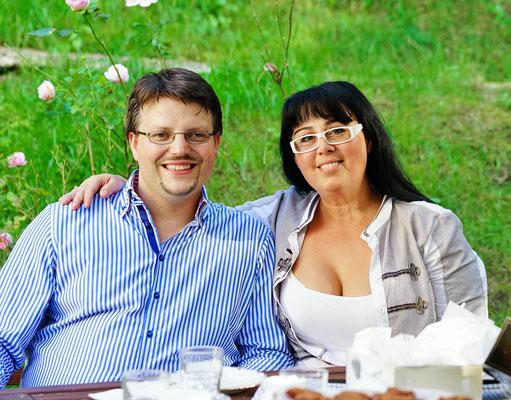 Georgia Kazantzidu und Matthias Laurenz Gräff (Foto: Hans-Jürgen Luntzer)