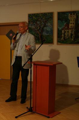 Dr. Günter Stummvoll spricht über Matthias Laurenz Gräff