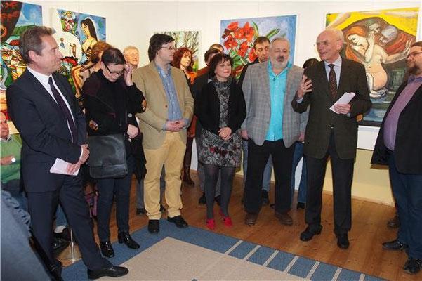 Foto Galerie Daliko. Matthias Laurenz Gräff und Helmuth Gräff. Zwischen den Welten ... Zwischen den Generationen