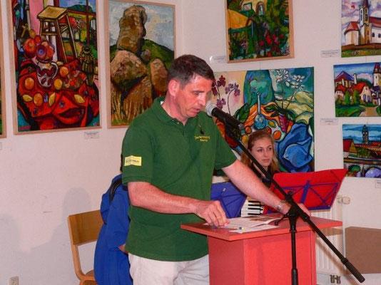 Rede von Vizebürgermeister Günther Kröpfl