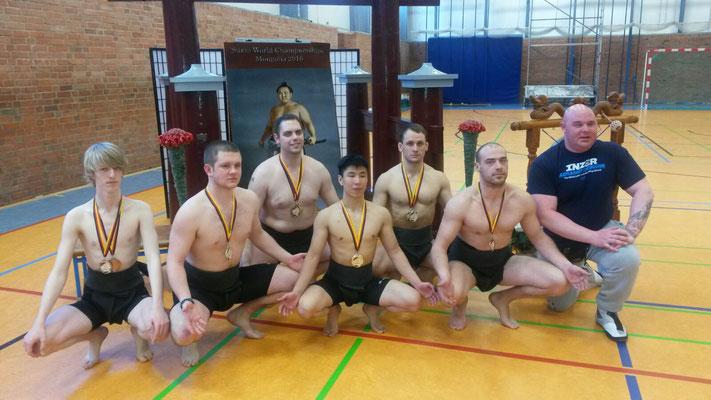 Unsere Sumo-Tori aus Osnabrück