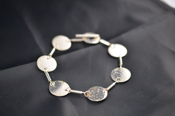 Edelsmid Wilma van den Hoek Armband (zilver)