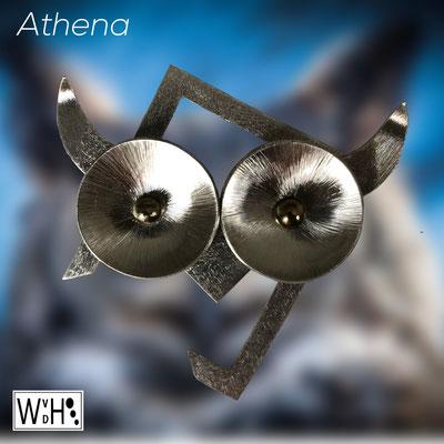 Wilma van den Hoek maassluis edelsmid zilver mythische vrouwen Hera Hestia Athena Aphrodite Demeter Persephone Artemis