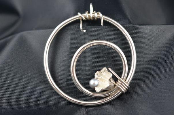 Edelsmid Wilma van den Hoek Hanger (zilver)