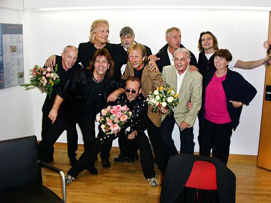 Gratulation nach dem Konzert 2002