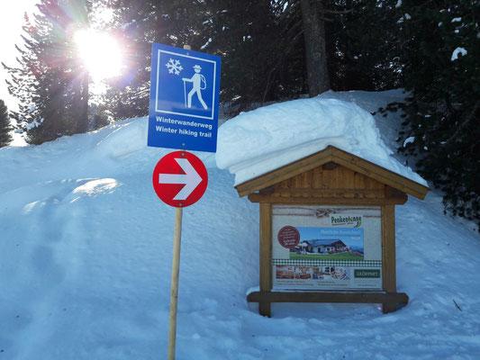 neuer Winterwanderweg!