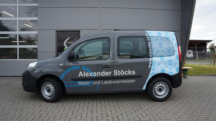 Alexander Stöck Werbeteilfolierung, Digitaldruck, Carwrapping, Renault Kangoo