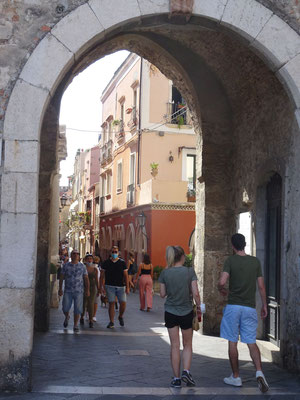 Stadttor von Taormina