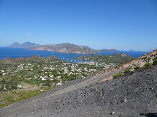 Traumhafte eolische Inselwelt