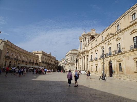 Piazzo del Duomo in Syrakus