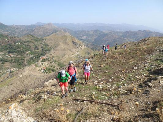 Aufstieg auf den Monte Venere