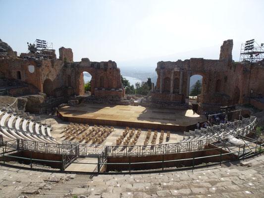 Antikes Griechisches Theater von Taormina