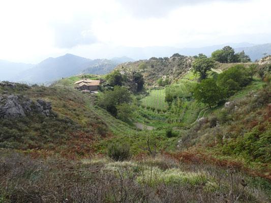 In den Monti Peloritani oberhalb von Mandanici