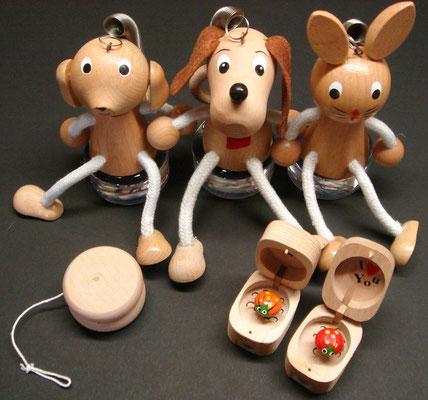 Diverse houten speeltje v.a € 1,95
