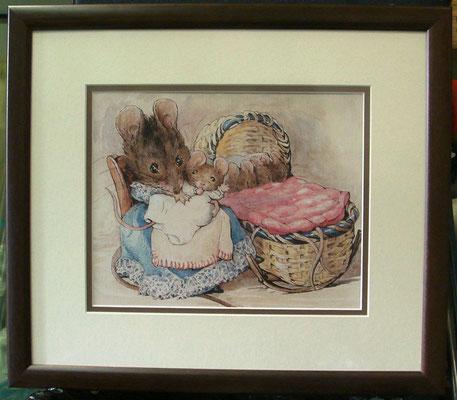 Beatrix Potter incl. lijst  € 29,95