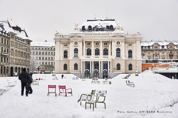Sechseläutenplatz und Opernhaus - #2297