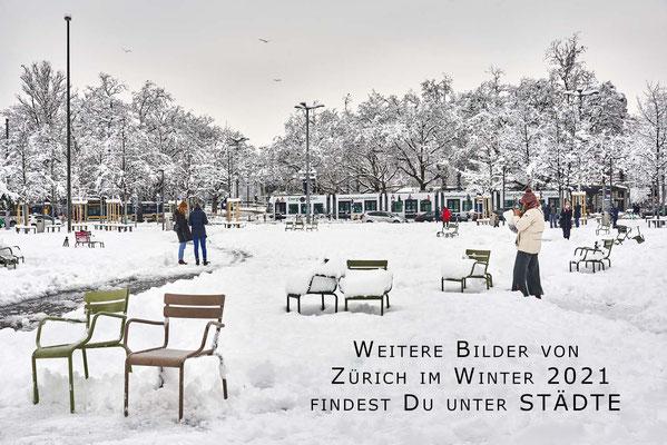Zürich Sechseläutenplatz - Bellevue - #2303