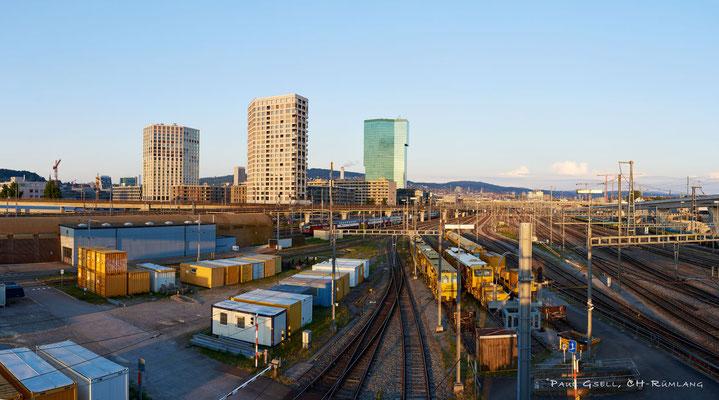 Zürich - SBB Gleisareal