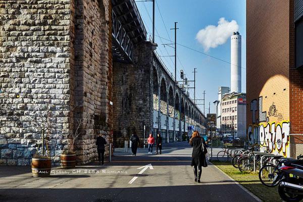 Zürich - Aussersihler-Viadukt